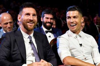 Ronaldo dan Messi sumbang Rp17 miliar lawan corona