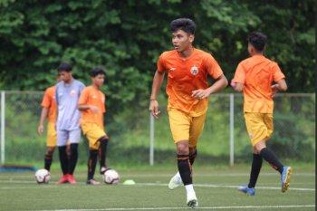 Pemain muda Persija beri dukungan moril Gong Oh-Kyun sembuh dari COVID-19