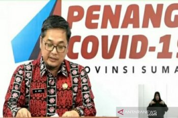 Juru Bicara Gugus Tugas COVID-19 sampaikan bantahan Gubernur Sumut sakit