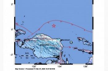 Belum ada laporan kerusakan akibat gempa tektonik di Manokwari