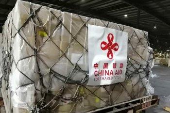 Malaysia terima bantuan peralatan medis COVID-19 dari China