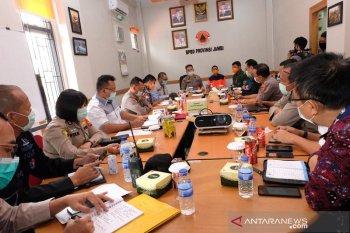 Kapolda Jambi pimpin rapat gugus tugas penanganan COVID-19