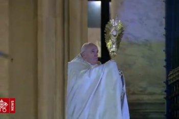 Paus mendukung PBB serukan gencatan senjata  global untuk fokus ke corona