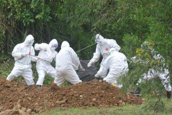 Pemakaman jenazah positif COVID-19