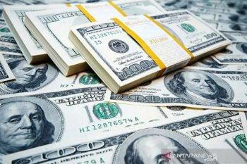 Dolar jatuh ketika Fed pasok likuiditas ke sistem keuangan global