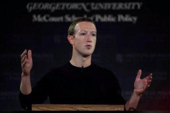 Karyawan Facebook mogok karena postingan Trump, Zuckerberg bergeming