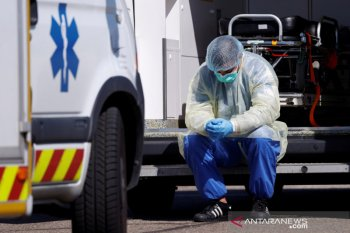Kematian COVID-19 di Prancis capai 4.000 lebih
