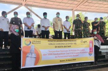 Sumbangan bright PLN Batam untuk antisipasi Corona