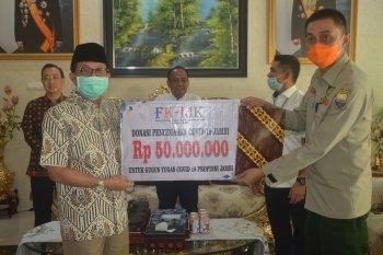 BPMD Provinsi Jambi salurkan bantuan untuk penanganan COVID-19