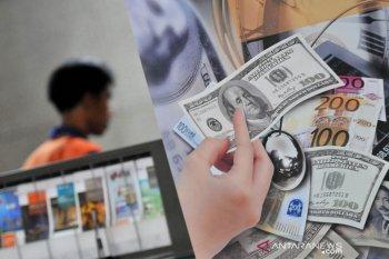Dolar menguat sedikit terangkat data pekerjaan, tetapi alami kerugian mingguan ketiga
