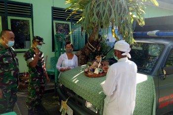 "Kodim Tabanan laksanakan upacara ""Melaspas"" mobil patroli"