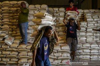 Stok beras Bulog hadapi pandemi COVID-19