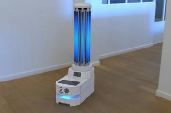 Telkom University hadirkan robot strelisasi ruang isolasi corona