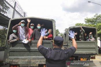 Cegah COVID-19, 31.786 napi dewasa dan anak telah dibebaskan