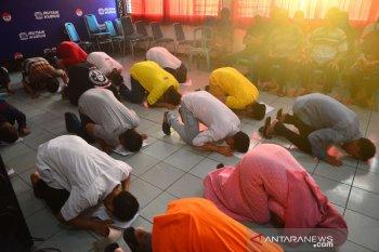 Hingga Jumat pagi, 22.158 narapidana dan anak telah  dibebaskan