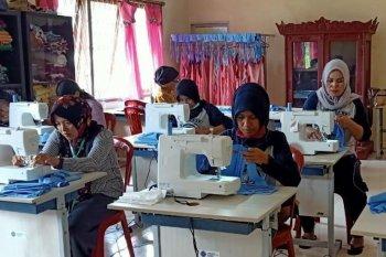 Karang Taruna Ogan Komering Ilir produksi ribuan masker