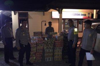 Polres Tanjabbar tangkap warga Riau pembawa unggas dilindungi