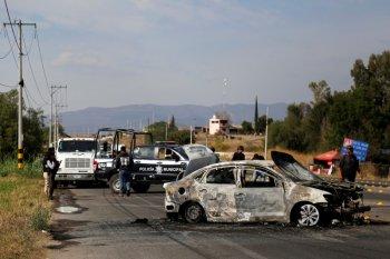 Baku tembak antargembong narkoba tewaskan 19 orang di Meksiko Utara