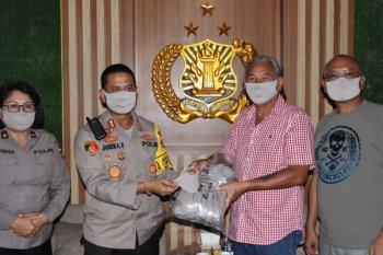Polresta Denpasar terima 1.596 masker dari klub otomotif