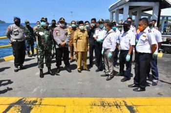 Gubernur Malut cek fasilitas bandara dan pelabuhan di Ternate