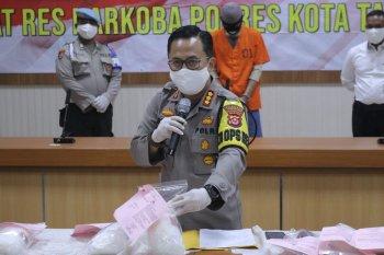 Polresta Tangerang ciduk 22 pengedar 9,4 kg sabu-sabu