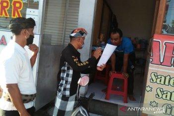 Pengunjung pasar di Denpasar wajib gunakan masker antisipasi COVID-19