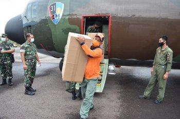 Pengangkutan bantuan dengan Hercules TNI-AU untuk pastikan lebih cepat
