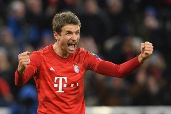 Mueller perpanjang kontrak di Bayern Muenchen sampai 2023