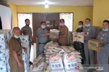 Kideco Serahkan Sembako Korban Banjir Muara Komam