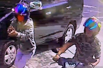 Terekam CCTV, pengusaha pempek di Jambi jadi korban perampokan bersenpi