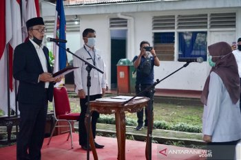 Sri Nowo Retno resmi jabat Kepala Dinas Kesehatan Kota Bogor