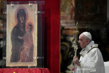 Setelah ditutup dua bulan, Gereja di Vatikan kembali dibuka untuk misa publik