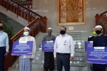 1.370 santri di Kalbar terima vitamin dan APD dari Bank Indonesia