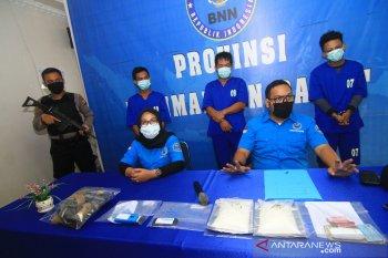 BNN Provinsi Kalbar Bekuk Kurir Narkoba Lintas Kalimantan
