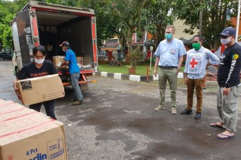 ICRC kirimkan paket bantuan ke LP di Jabar dan Banten cegah COVID-19