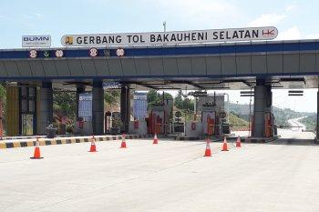Kondisi Jalan Tol Trans Sumatera H-1 Jelang Idul Fitri 1441 Hijriah