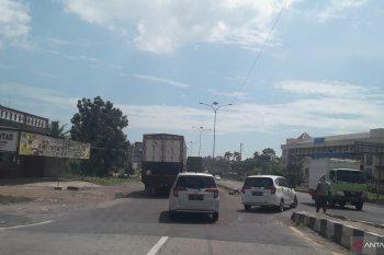Kondisi Jalan Lintas Sumatera H-1 jelang Idul Fitri 1441 Hijriah