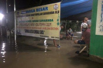 Banjir kepung Kota Samarinda di malam Lebaran