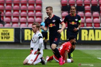Liga Jerman, Werner ukir trigol saat Leipzig hancurkan Mainz