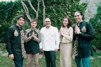 Tanpa baju baru, Maia Estianty rayakan Lebaran