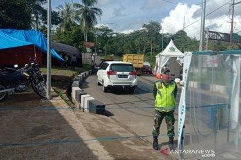 TNI Rejang Lebong bantu pengamanan penjagaan posko perbatasan