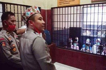 Kapolres Kotawaringin Timur beri perhatian kepada para tahanan