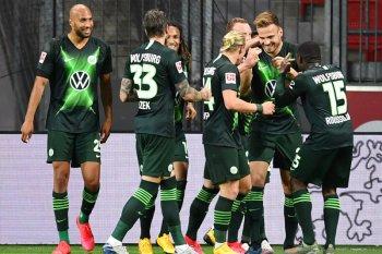 Wolfsburg mengamuk, hancurkan tuan rumah Leverkusen skor 4-1