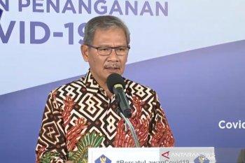 Yurianto: Pemerintah sedang mengkaji opsi pemantauan orang di fasilitas umum