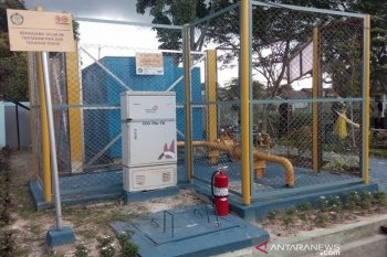 Pemasangan sambungan gas rumah tangga di Kabupaten Penajam ditunda