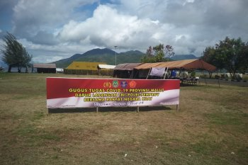 Dapur lapangan TNI-Polri di Kota Ternate dioperasikan