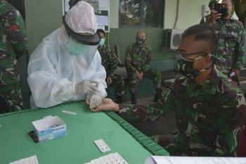 146 personel Kodam XII/Tpr dilakukan rapid test