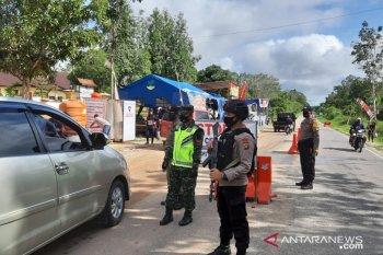 Brimob masih disiagakan pengamanan di perbatasan Jambi