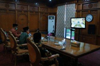 Gubernur Jambi halal bi halal virtual bersama bupati dan wali kota