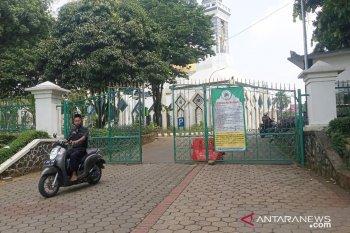 Masjid di Komplek Pemda Cibinong belum gelar Shalat Jumat